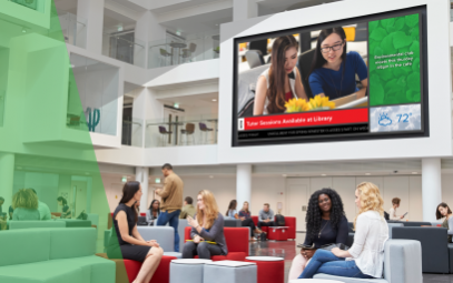 Customized Video Content on Campus