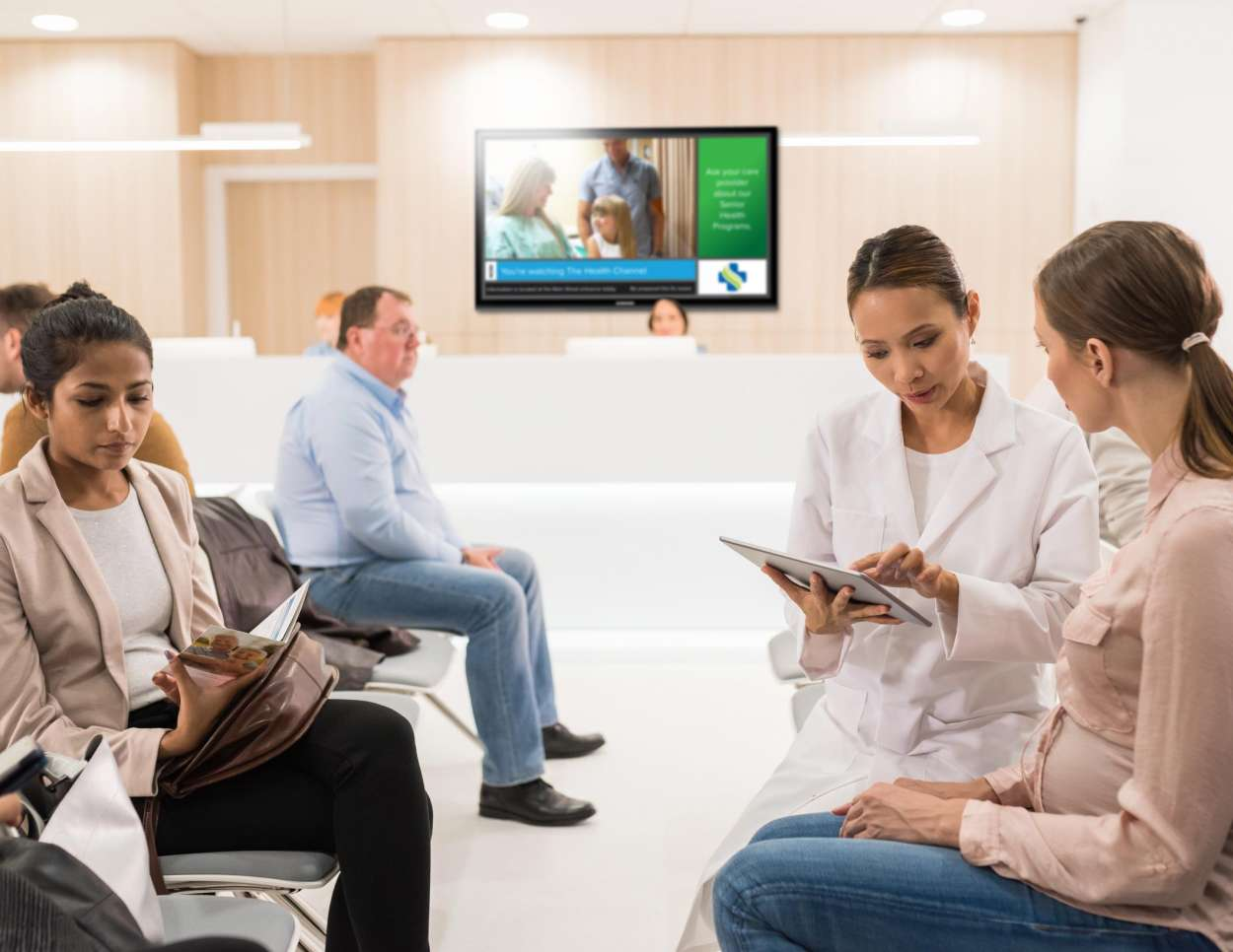 KONVERT™ TV for Healthcare Waiting Rooms